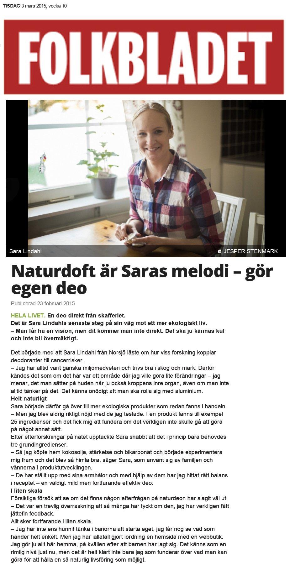 Folkbladet_ Naturligdeo