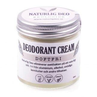 Naturlig Deo Doftfri, en parfymfri deodorant