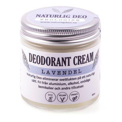 Naturlig deo, ekologisk deodorant Lavendel