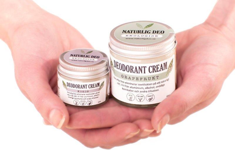 naturlig deo ekologisk deodorant