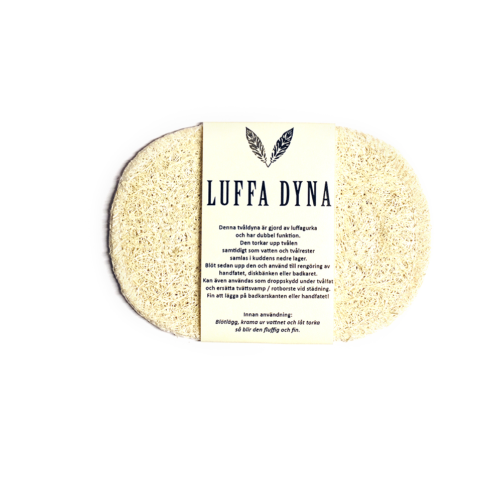 LuffaDyna , naturlig tvåldyna