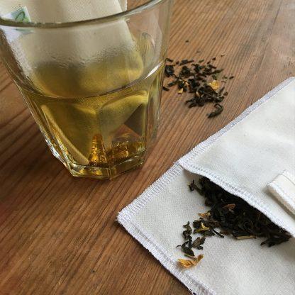 Återanvändbart tefilter