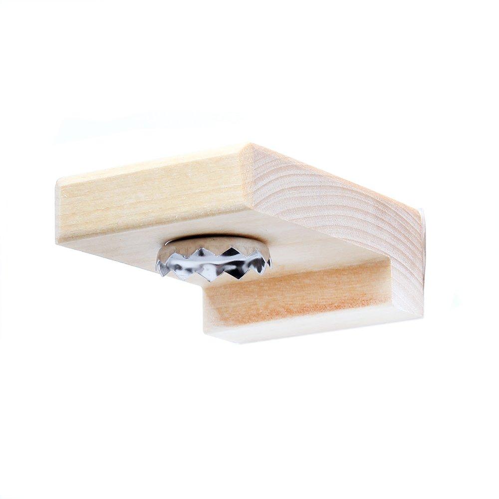 Magnetisk tvålhängare i trä