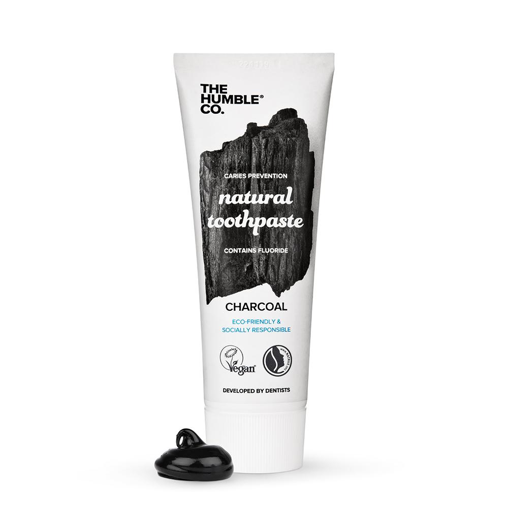 Tandkräm Charcoal med aktivt kol