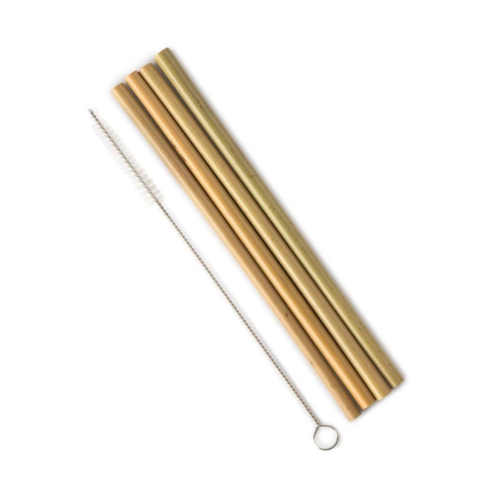 Bambusugrör 4 pack med rensare