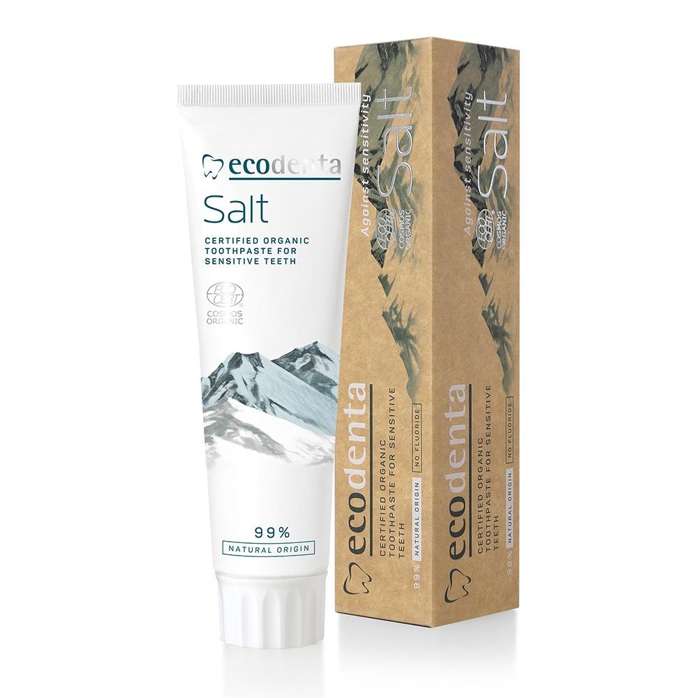 Eko tandträm sensitive, utan flour, ecodenta