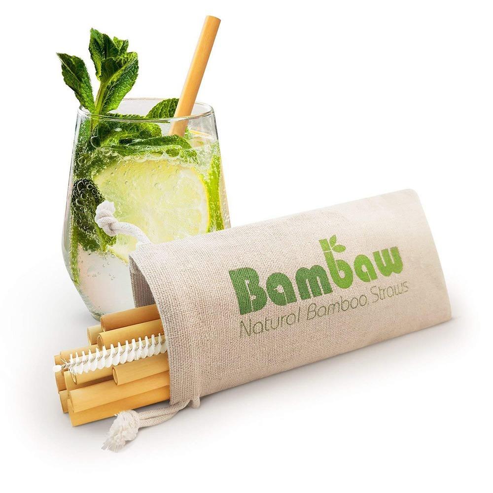 ekologiska bambusugrör