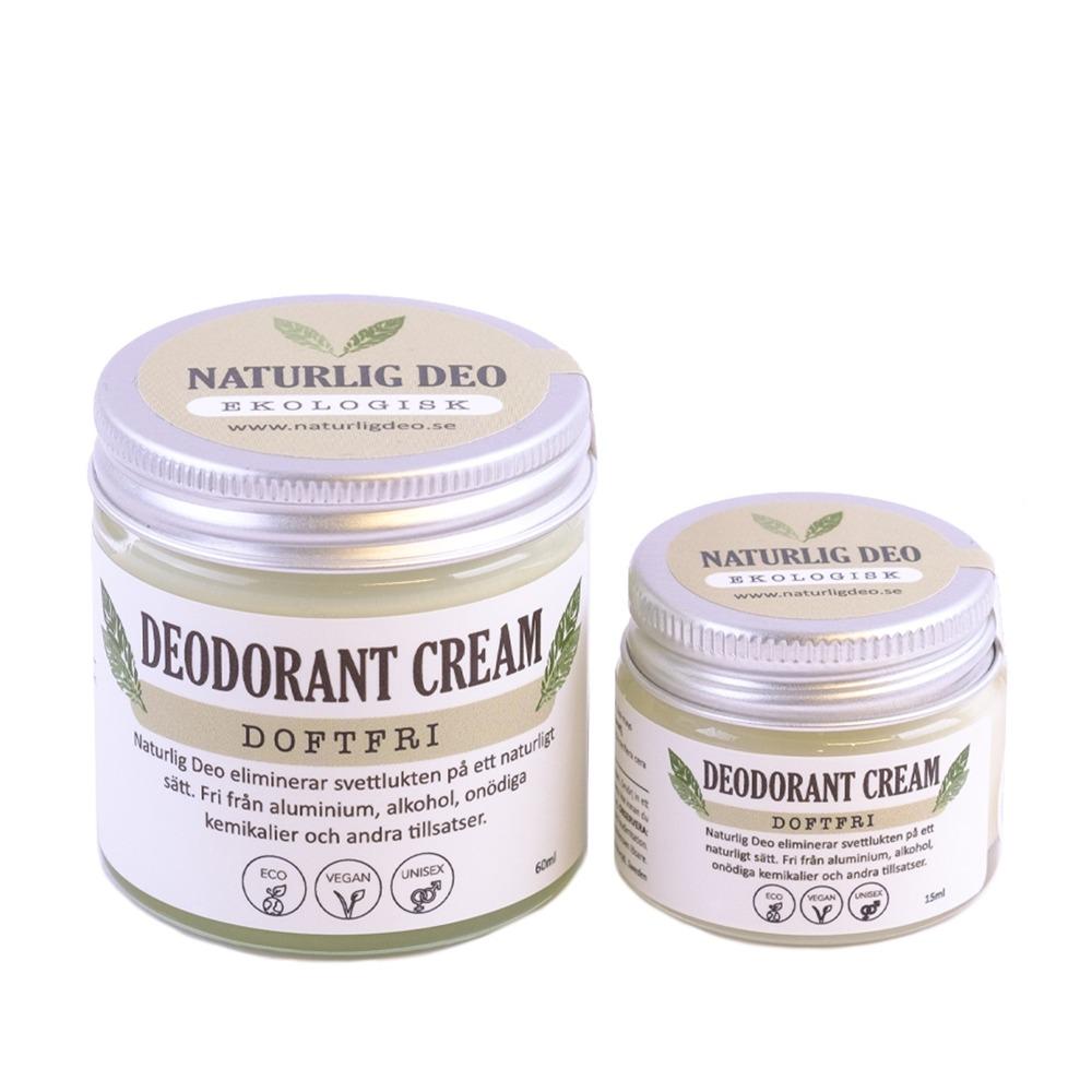 Naturlig Deo Ekologisk Deodorant Doftfri