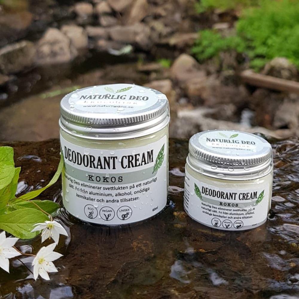 Naturlig Deo Ekologisk Deodorant Kokos Naturbild