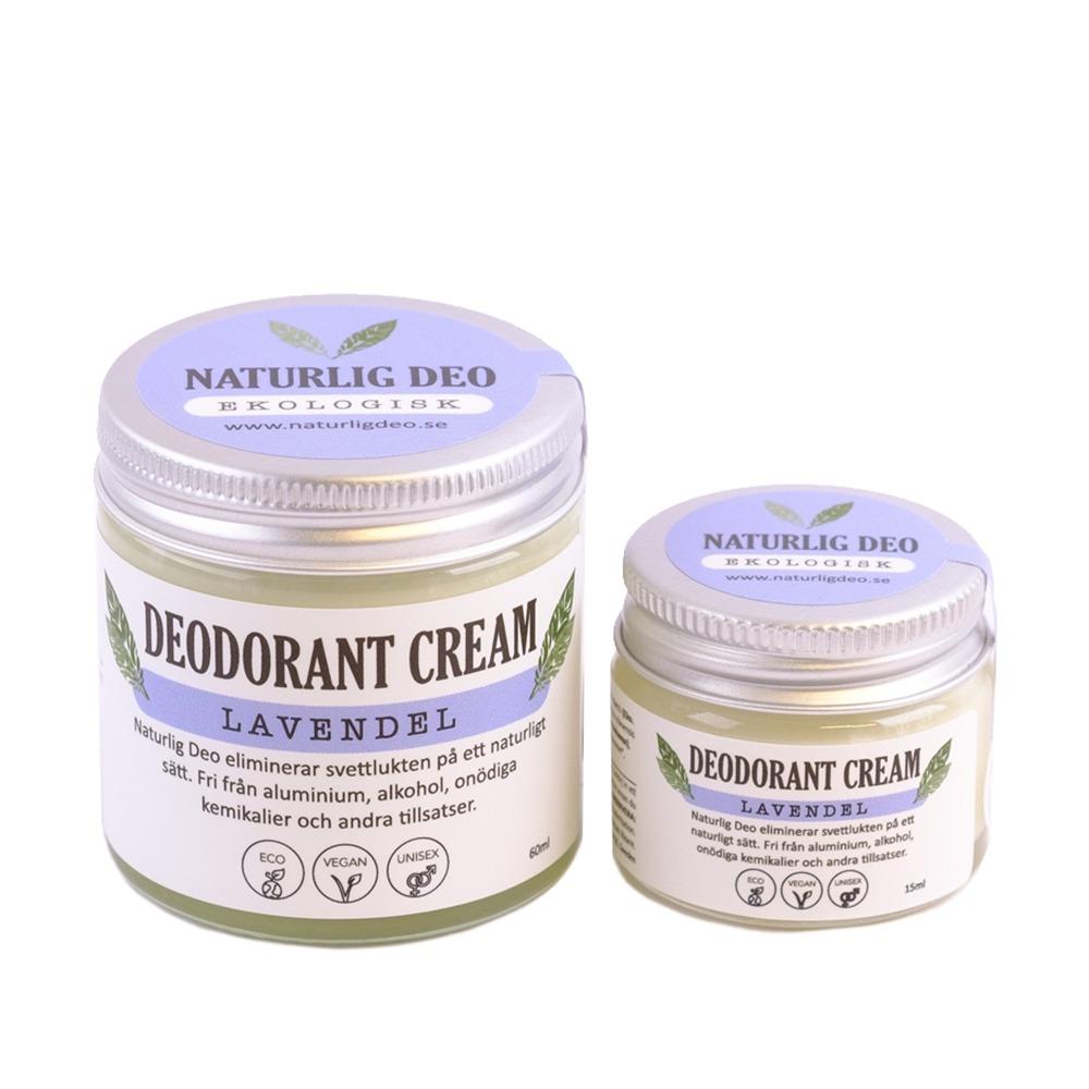 Naturlig Deo Ekologisk Deodorant Lavendel
