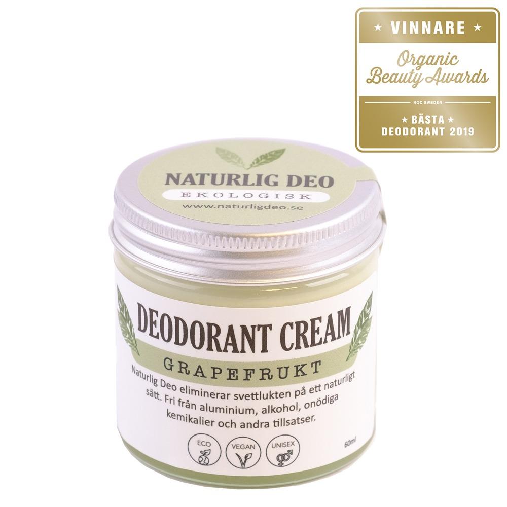 Naturlig Deo Grapefrukt 60 ml - Bästa Deodorant 2019