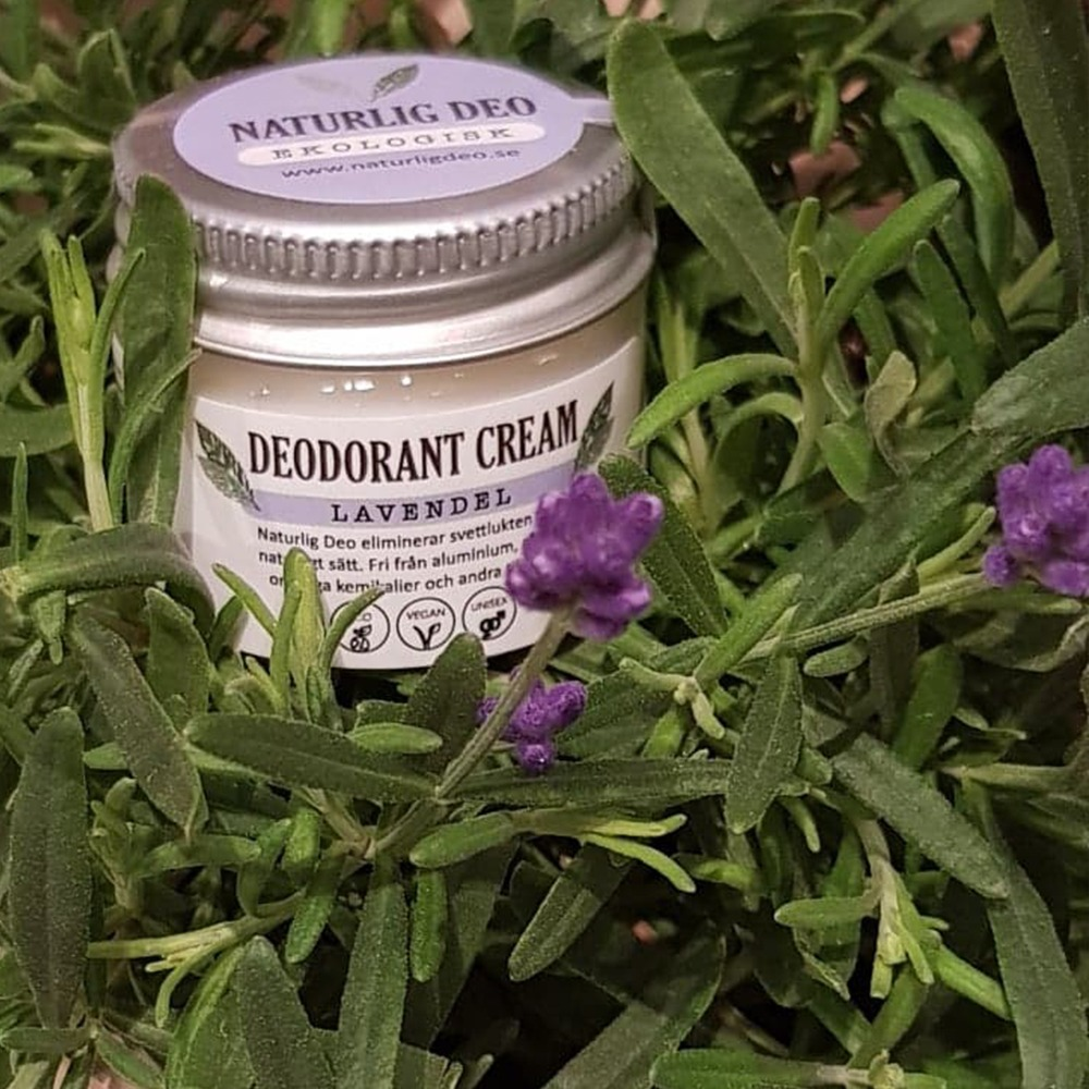 Naturlig Deo Lavendel