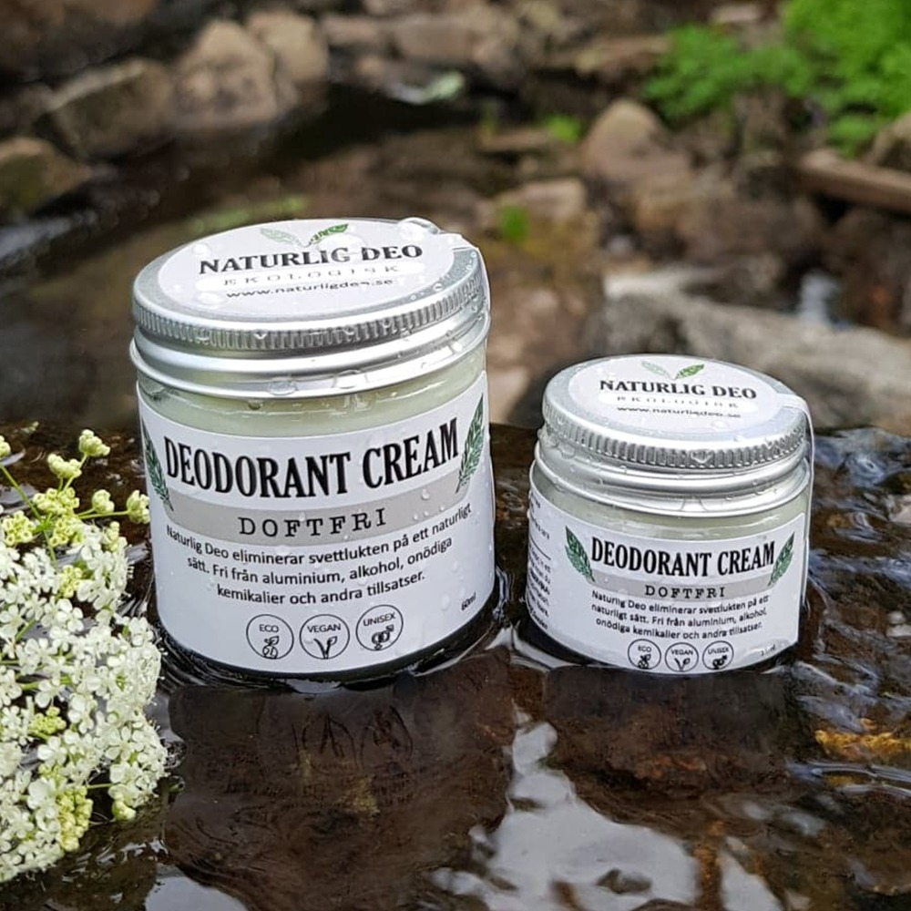 Naturlig Deo, parfymfri deodorant