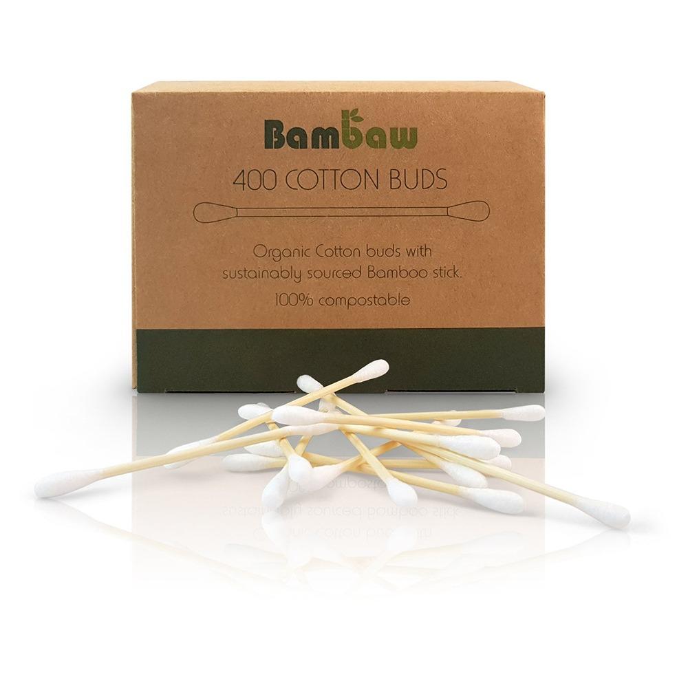 Tops i ekologisk bomull och bambupinne finna att köpa här