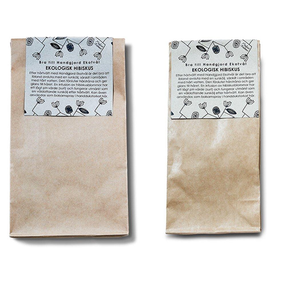 Ekologiskt hibiskus- surskölj och te