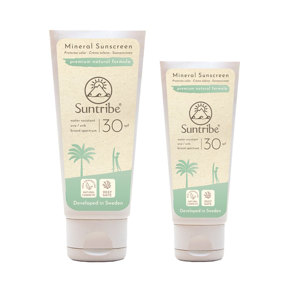 Solkräm, Body & Face Sunscreen SPF 30 - Suntribe