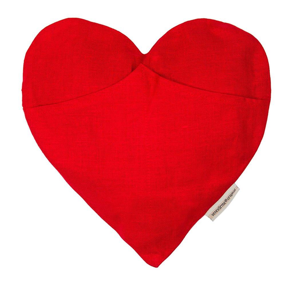 Vetekudde Hjärta, Röd