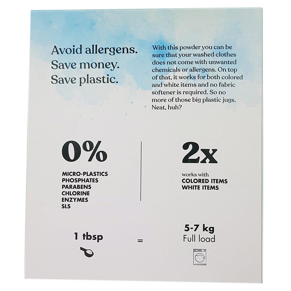 Tvättmedel, kokosbaserat - CleenCare 150tvättar baksida