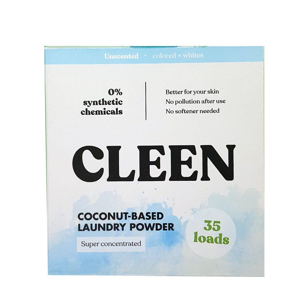 Tvättmedel, kokosbaserat - CleenCare 35tvättar