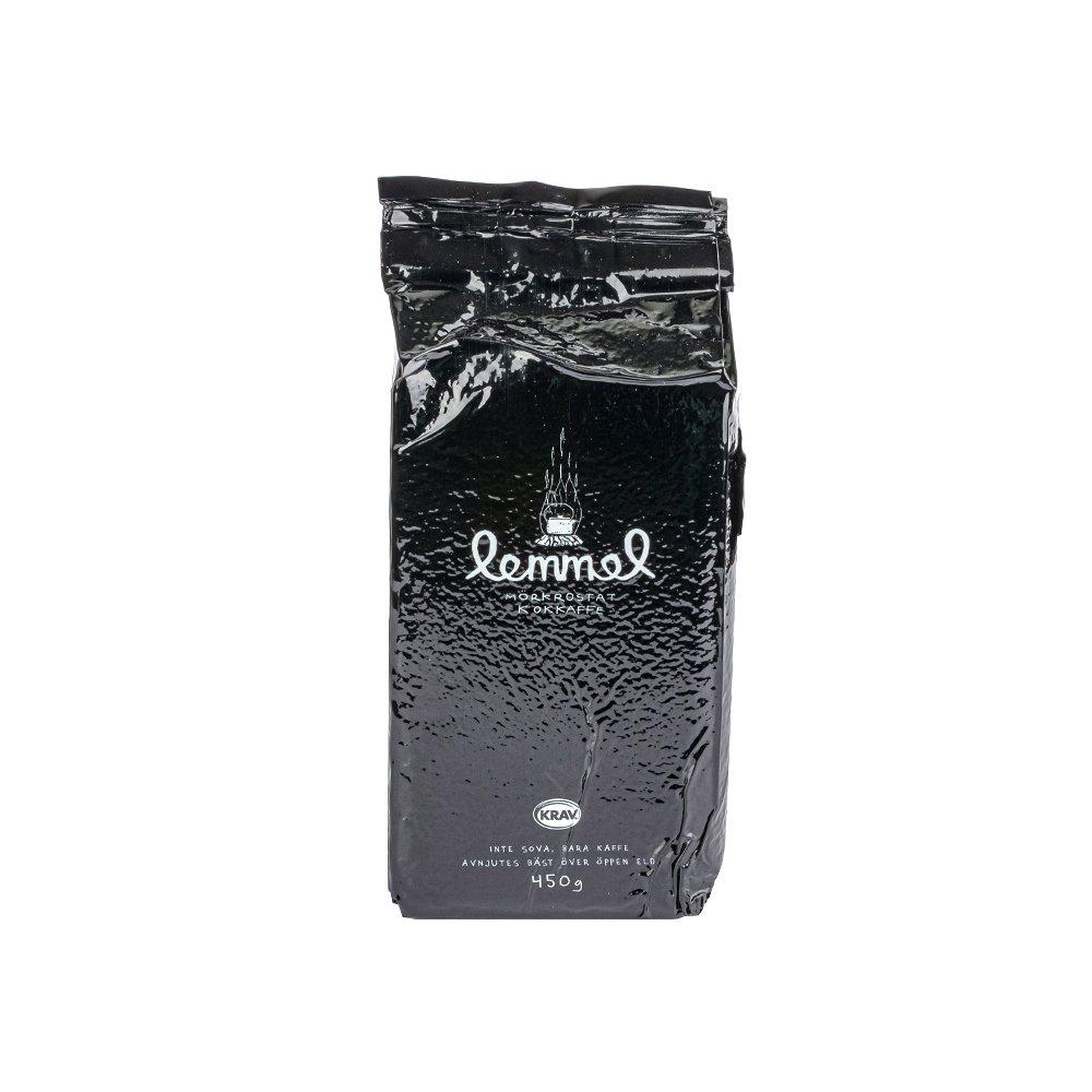 Mörkrostat Ekologiskt och KRAVmärkt kaffe 450g - Lemmelkaffe