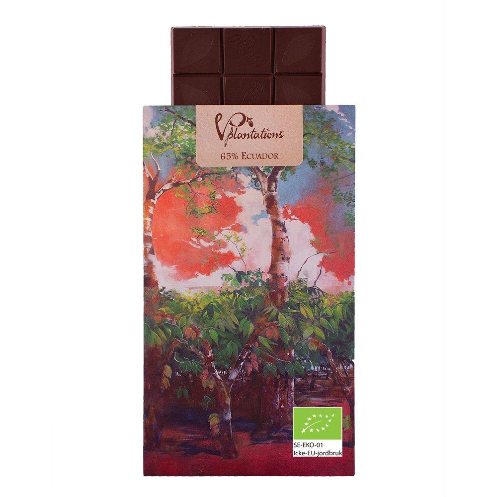 Norrländsk choklad 65% Ecuador - Vintage plantations