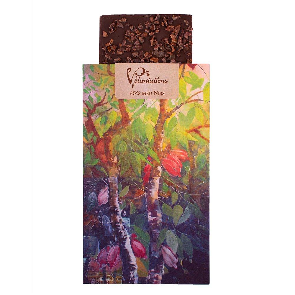 Norrländsk choklad 65% med Nibs - Vintage plantations