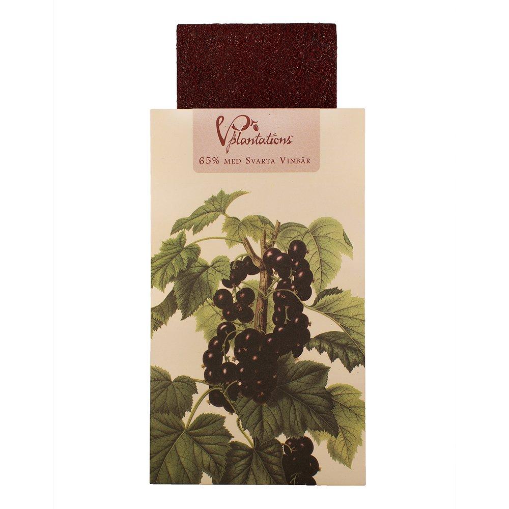 Norrländsk choklad 65% med Svarta Vinbär - Vintage plantations