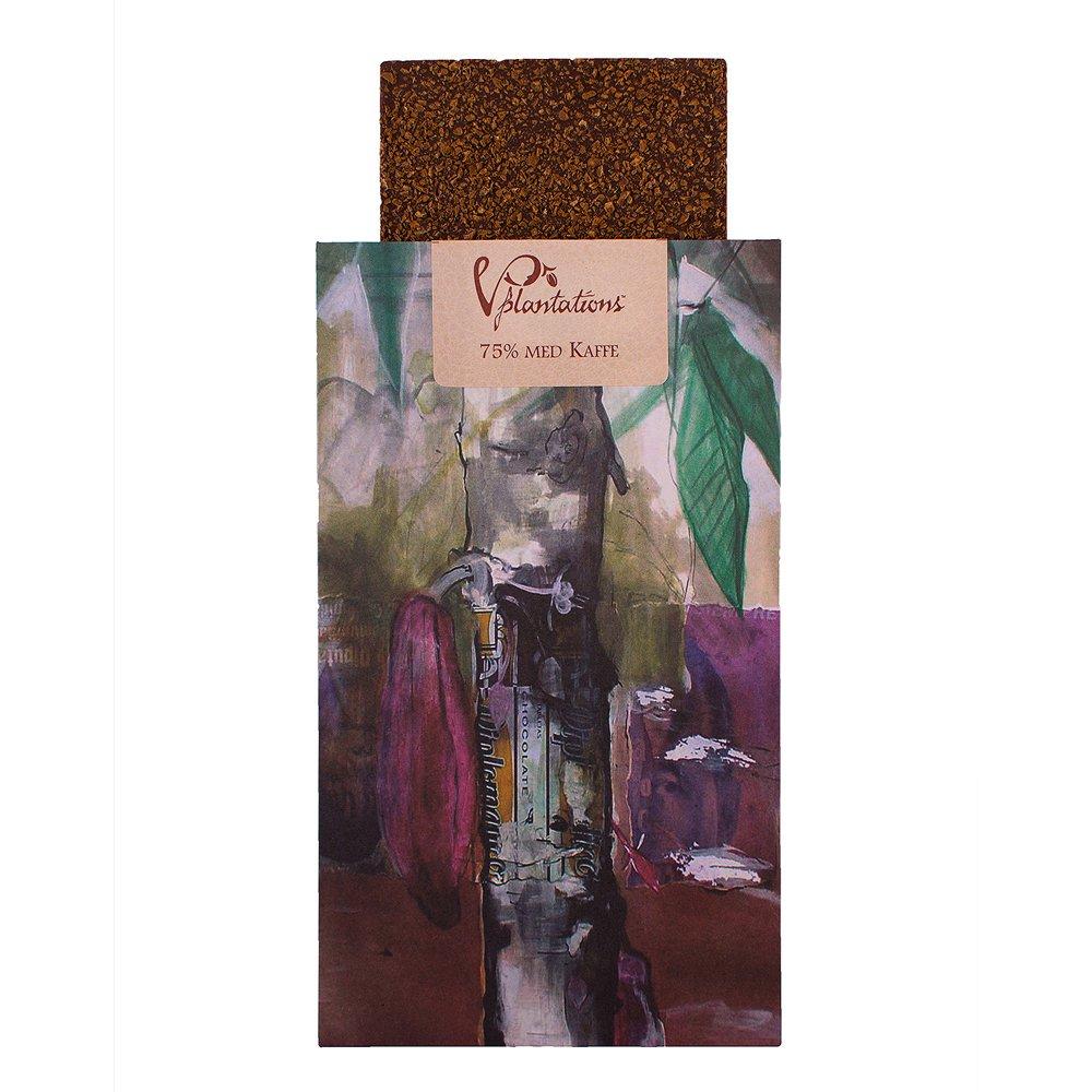 Norrländsk choklad 70% med Kaffe - Vintage plantations