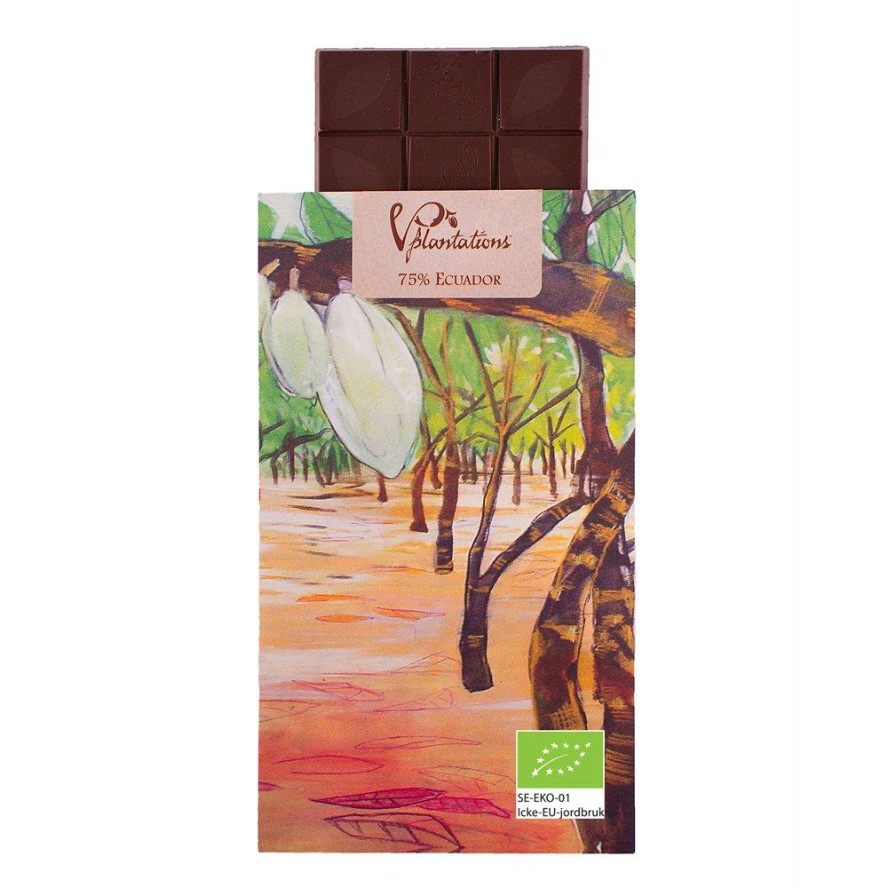 Norrländsk choklad 75% Ecuador - Vintage plantations