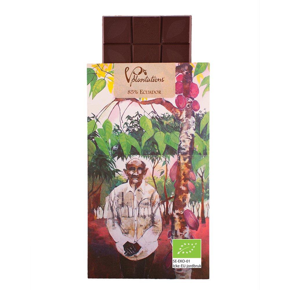 Norrländsk choklad 85% Ecuador - Vintage plantations