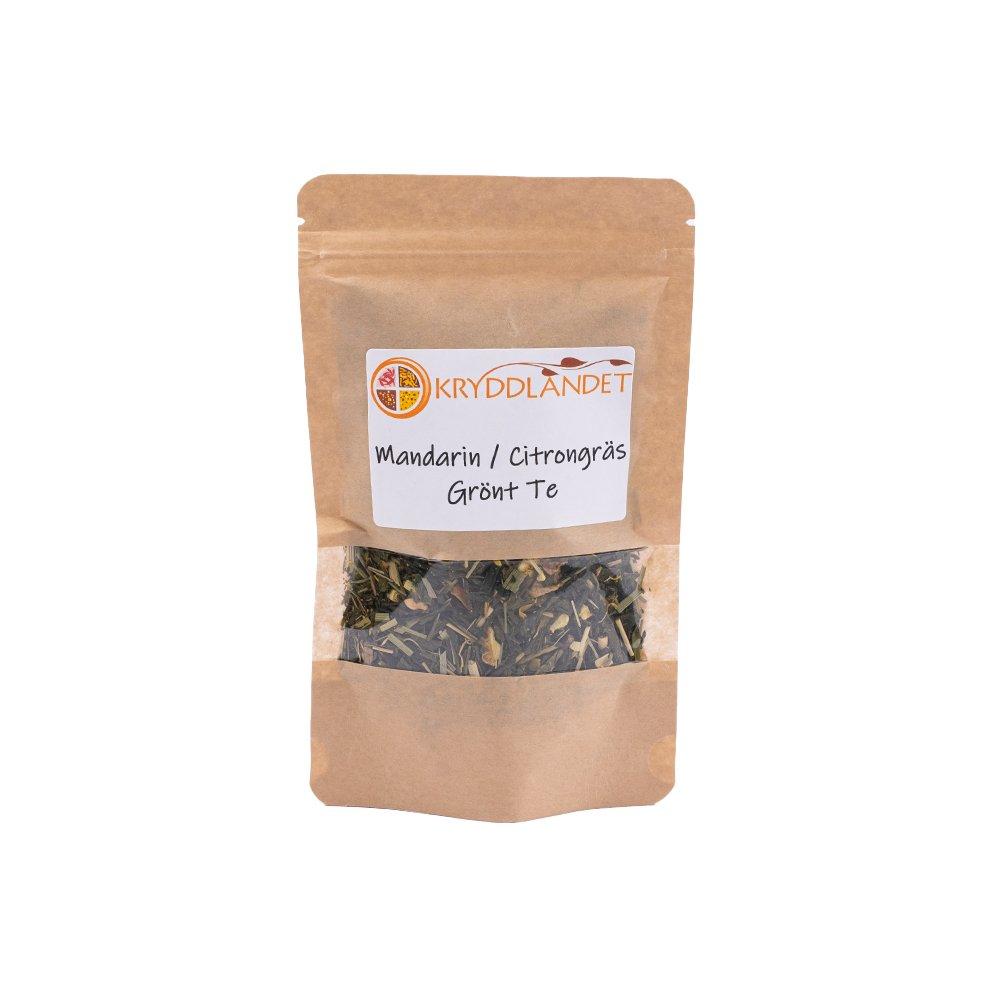 Ekologiskt Grönt Te Mandarin Citrongräs - Kryddlandet