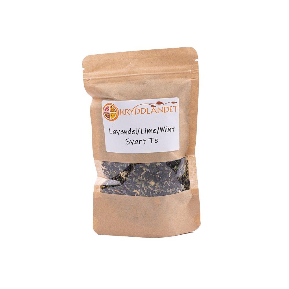 Ekologiskt Svart Te Lavendel Lime Mint - Kryddlandet