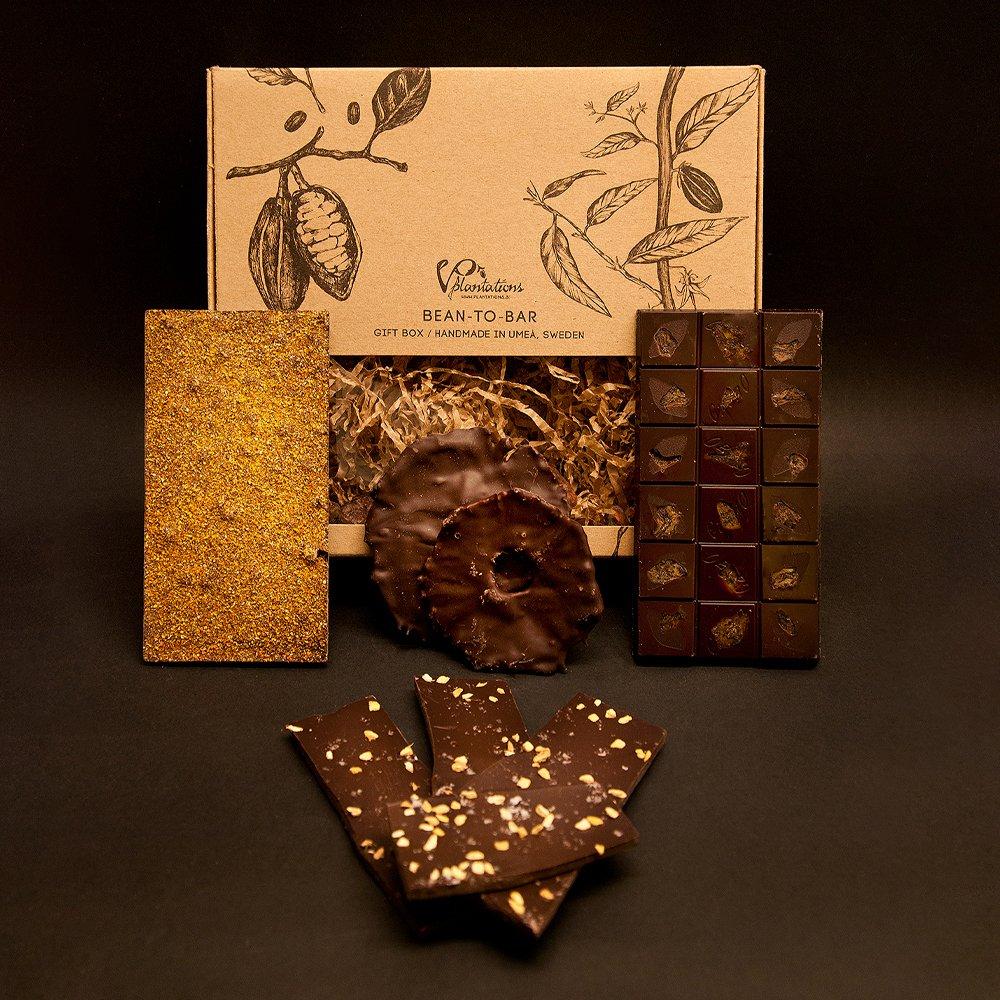 Norrländsk Presentlåda choklad, Kakaons vänner - Vintage Plantations