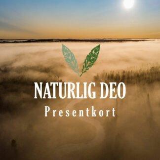 Presentkort Naturlig Deo höst dimma sol