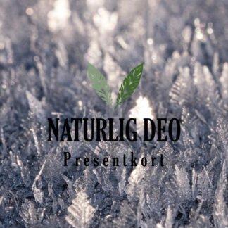 Presentkort Naturlig Deo iskristaller