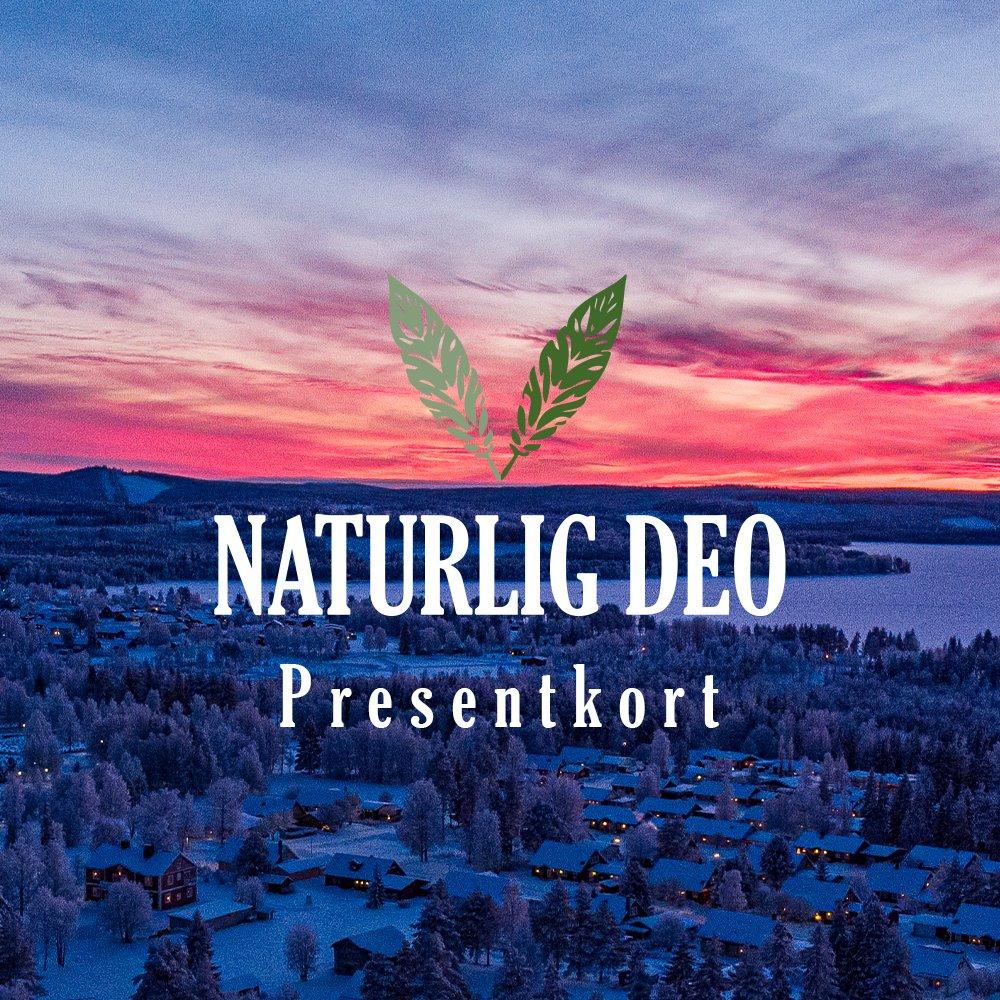 Presentkort Naturlig Deo Norsjö vinter