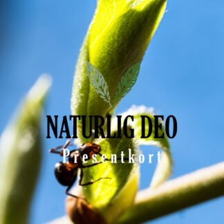 Presentkort Naturlig Deo sommar myra