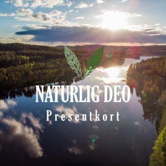 Presentkort Naturlig Deo sommar sjö