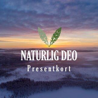Presentkort Naturlig Deo vinter soluppgång