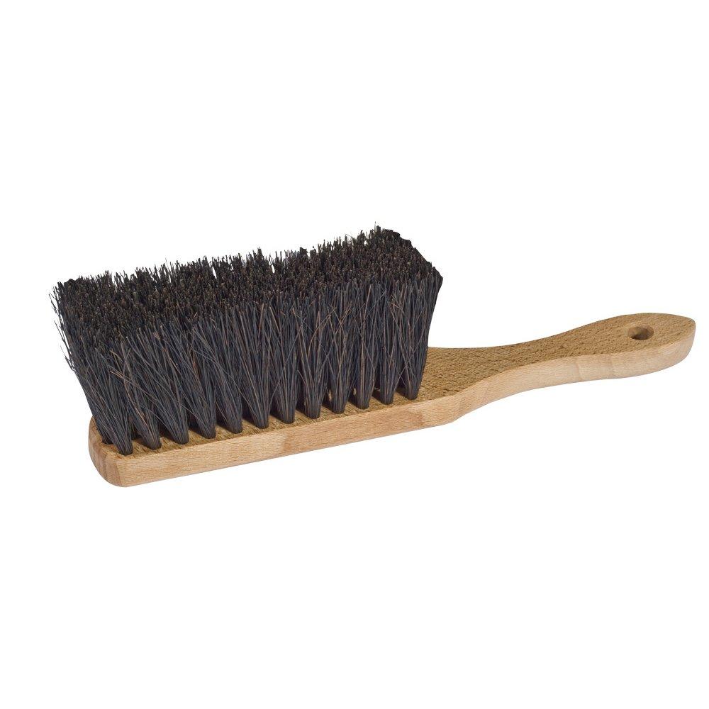 Handborste i trä och växtfiber