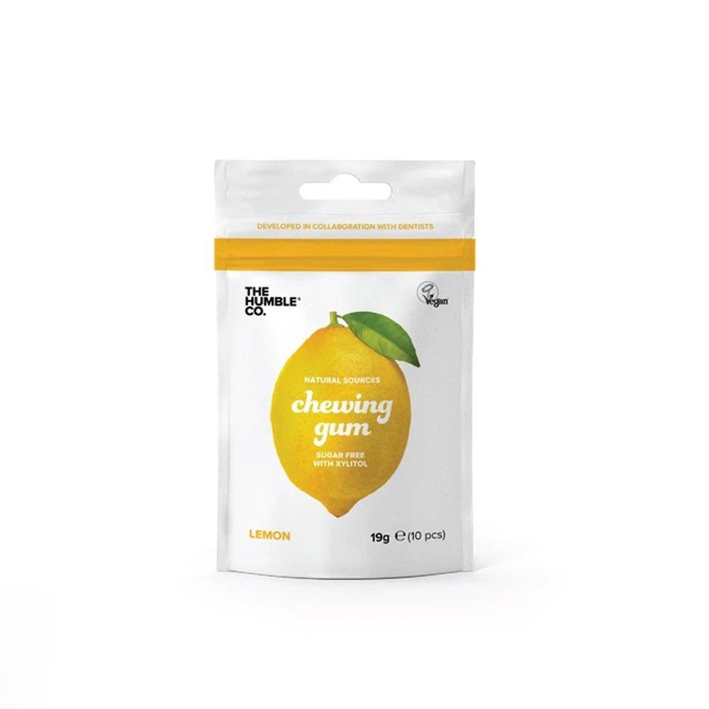 Naturligt tuggummi Citron - The Humble Co.