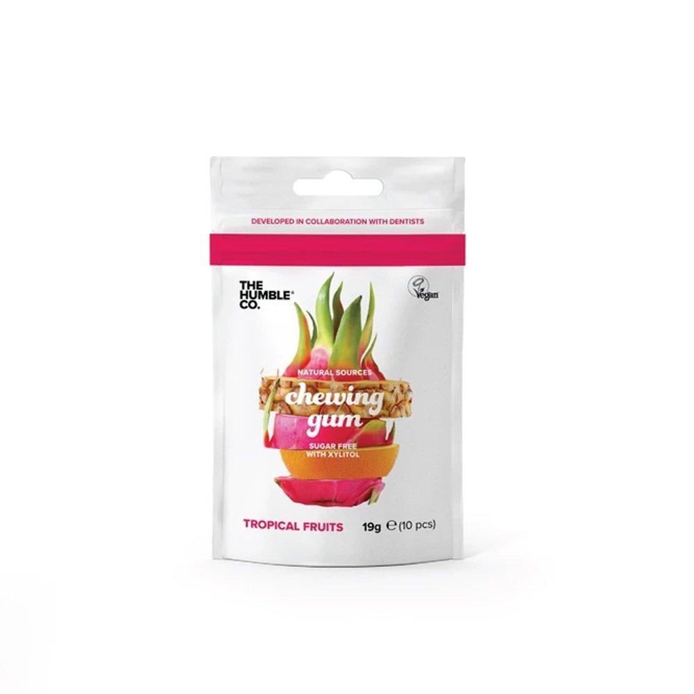 Naturligt tuggummi Tropiska frukter - The Humble Co.