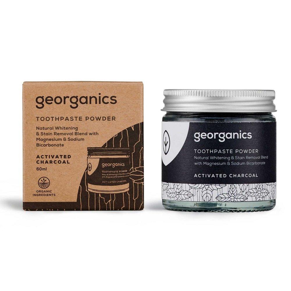 Tandblekningspulver Aktivt kol – Georganics