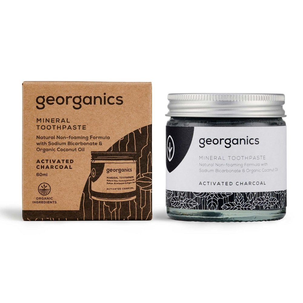 Tandkräm Activated Charcoal – Georganics