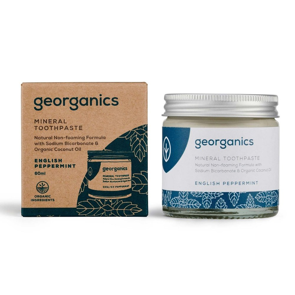 Tandkräm English Peppermint – Georganics