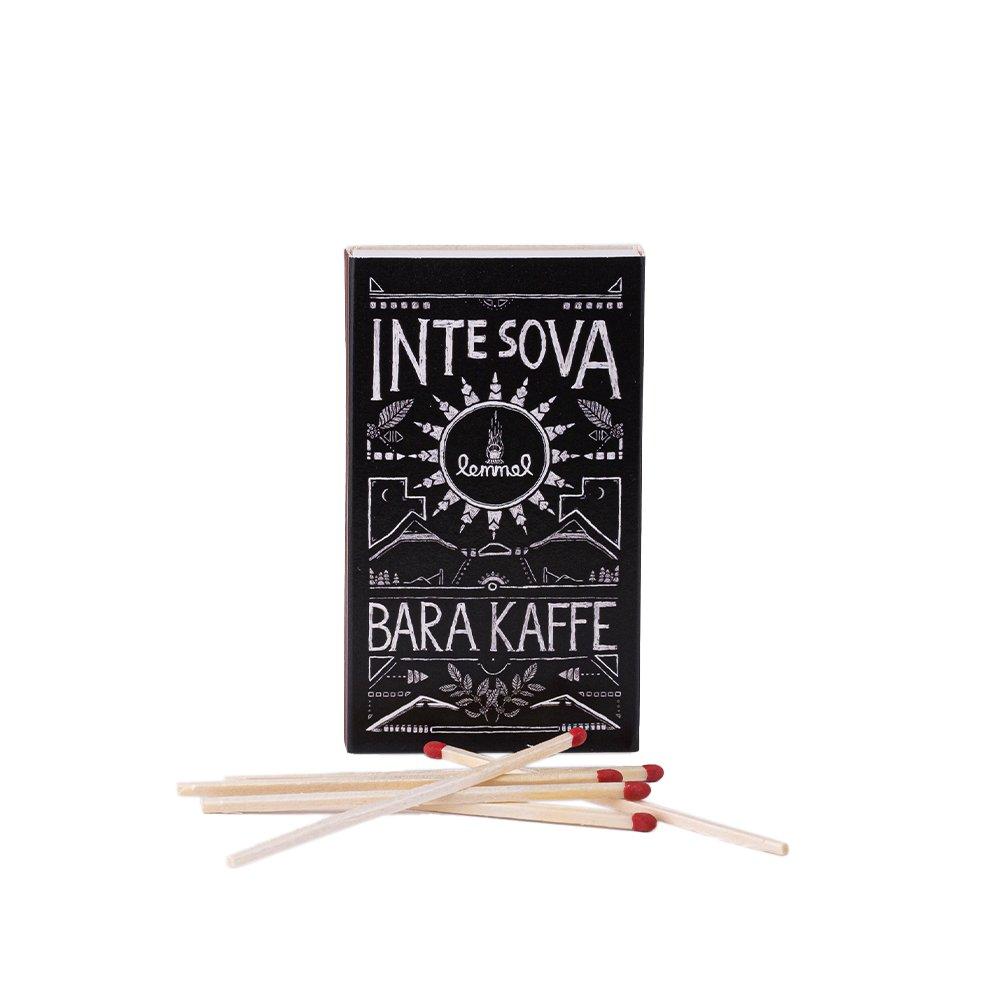 Tändstickor Dokumentförstörare INTE SOVA - Lemmelkaffe
