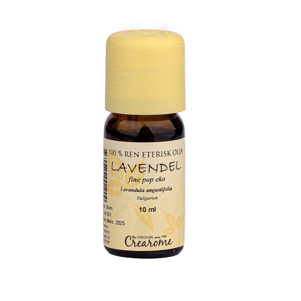 EKO eterisk olja Lavendel fine pop, 10 ml - Crearome