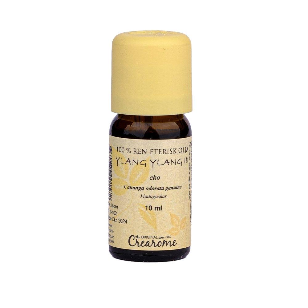 EKO eterisk olja Ylang ylang III, 10 ml - Crearome