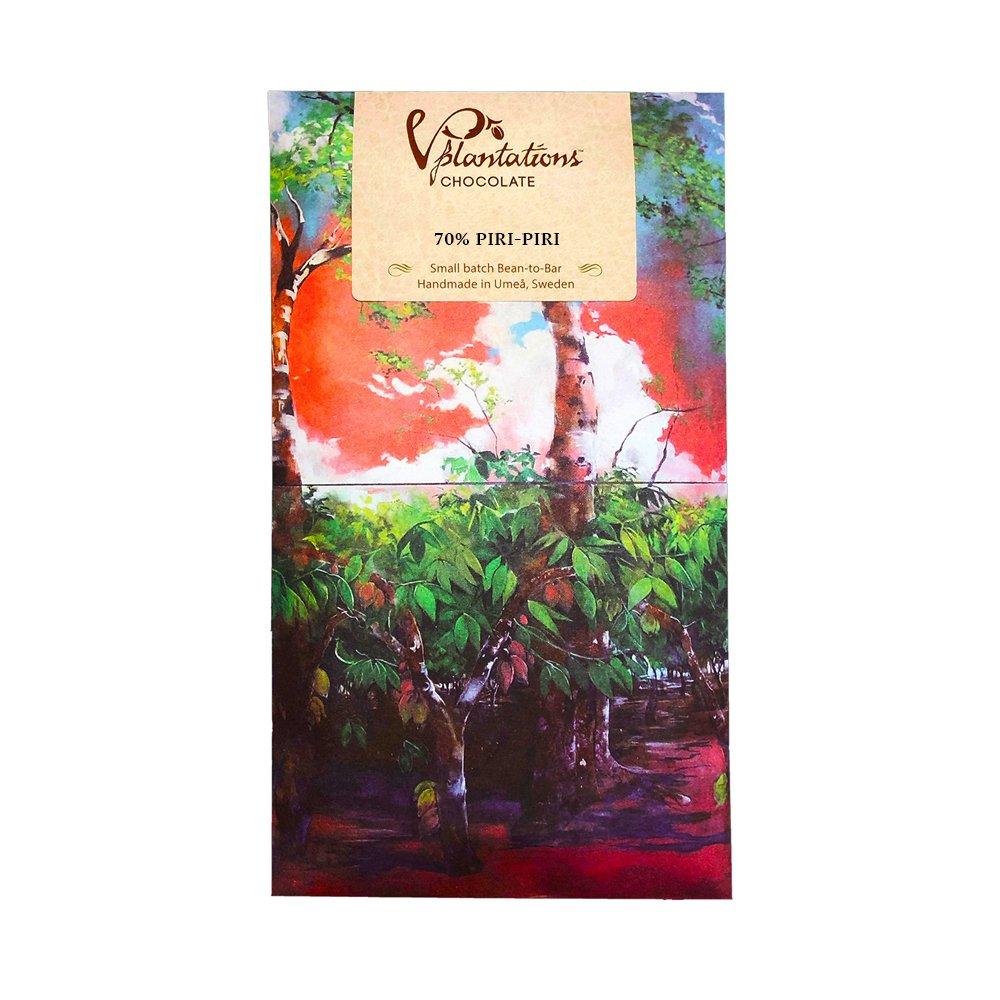 Norrländsk choklad 70% Piri-piri - Vintage plantations