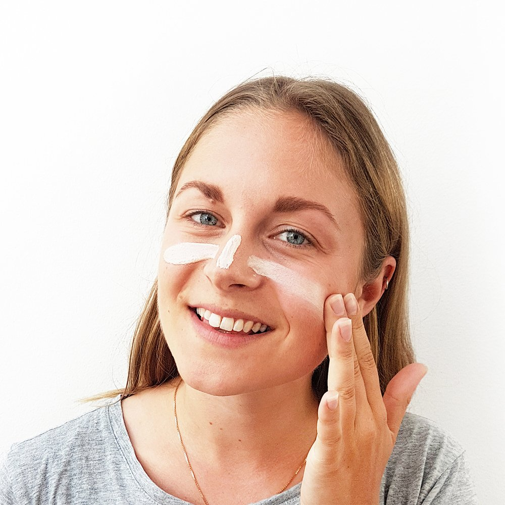 Day Cream, Tonad Dagkräm SPF 20 användning- Suntribe